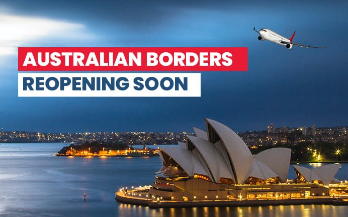 Latest News Says Australian Borders Reopening Soon