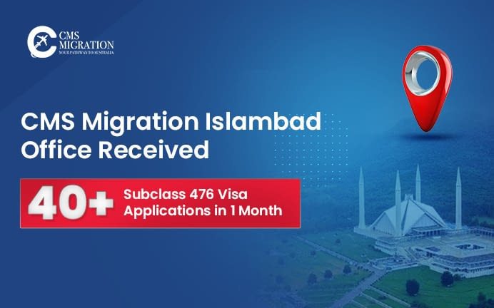 CMS Migration Office In Islamabad Received Overwhelming Response